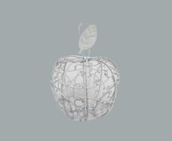Elma Kutu Telden Beyaz - Thumbnail