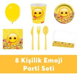 - Emoji Doğum Günü Seti Eko Set 8 Kişilik