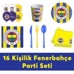 - Fenerbahçe Doğum Günü Seti Eko Set 16 Kişilik