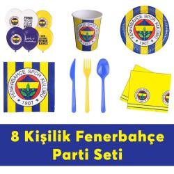 - Fenerbahçe Doğum Günü Seti Eko Set 8 Kişilik