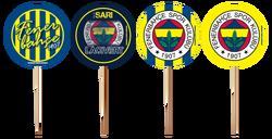 - Fenerbahçe Kürdan Lisanslı Pk:10 Kl:144