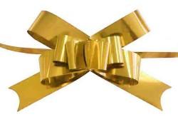 - Fiyonk Çekmeli Rafyadan Metalize 2cm Asetat Kutulu Altın