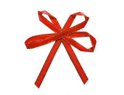 Fiyonk Kelebek Modeli Kırmızı