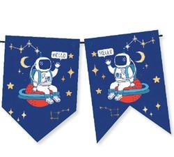 - Flama Astronot Uzayda Kırlangıç Bayrak Pk:1-300