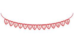 - Seni Seviyorum Flama Bayrak 2.60m