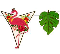 - Flama Bayrak Flamingo Taçlı Varaklı Pk:1-300