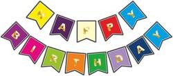 - Flama Bayrak Happy Birthday Set Rengarenk Pk:1-300