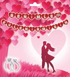 Flama Bayrak Kalpli Benimle Evlenirmisin Pk:1-300 - Thumbnail