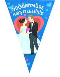 - Düğünümüze Hoşgeldiniz 10 Lu Flama