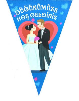 Düğünümüze Hoşgeldiniz 10 Lu Flama