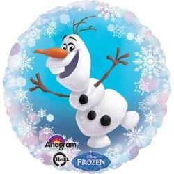 - Frozen Olaf Folyo Balon (43x43 cm)