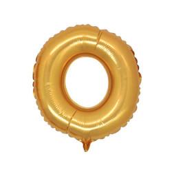 - O Folyo Balon Harf Altın 40 inç (100x100 cm)