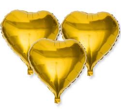 - Folyo Balon Kalpli Altın 12cm Pk:50 Kl:40