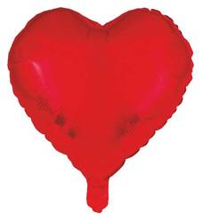 - Folyo Balon Kalpli Kırmızı 18ınc Pk:1 Kl:200