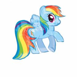 - Supershape My Lıttle Pony Folyo Balon 71x68 cm