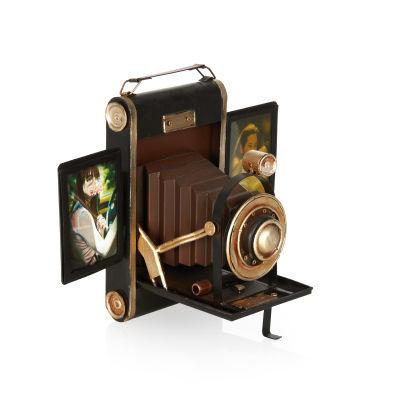 Fotoğraf Makinesi Temalı Metal Çerçeve