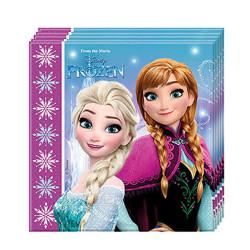 - Frozen Buz Işıltısı Kağıt Peçete (33x33 cm) 20'li Paket