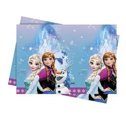 - Frozen Buz Işıltısı Plastik Masa Örtüsü (120x180 cm) 1'li Paket