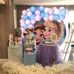- Frozen Temalı Zincir Balon Seti