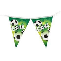 - Futbol Partisi Bayrak Afiş