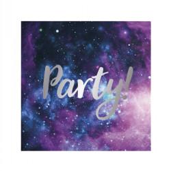 - Galaksi Parti Kağıt Peçete (33x33 cm) 20'li Paket