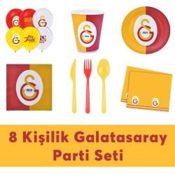 - Galatasaray Doğum Günü Seti Eko Set 8 Kişilik