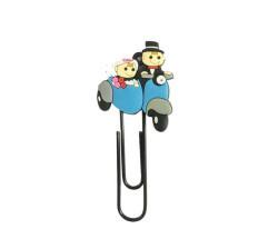 Gelin Damat Kitap Ayırıcı Motorsikletli - Thumbnail