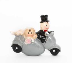 - Gelin Damat Motorsiklet Sepetli
