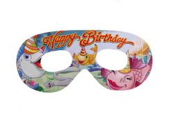 - Balıklı Happy Birthday Gözlük