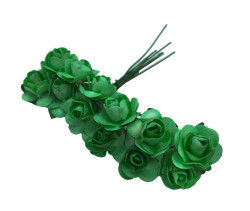 Gül Kağıttan Küçük Pastel Yeşili
