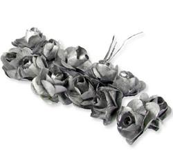 - Gül Kağıttan Orta Boy Gümüş P144-100