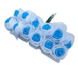 - Gül Lateks Beyaz Ortası Mavi