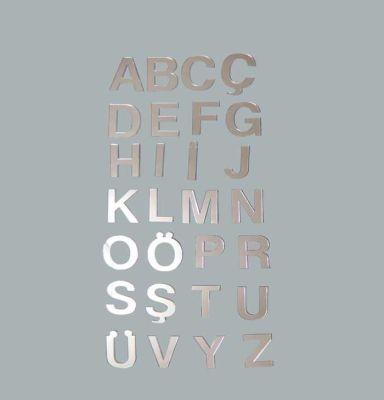 Harf Ayna Pleksi 4 cm-b