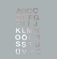 - Harf Ayna Pleksi 4 Cm-c-pk:25