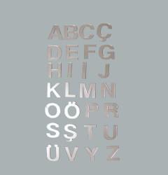 - Harf Ayna Pleksi 4 cm-p