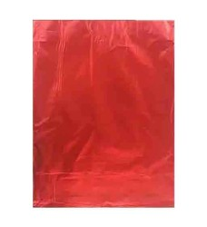- Hediye Paketi Metalize Yapışkanlı Küçük 12x17cm Kırmızı