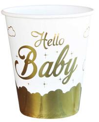 - Hello Baby Bardak Karton Metalize Pk:6 Kl:54
