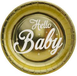 - Hello Baby Tabak Metalize 23 Cm Pk:6 Kl:48
