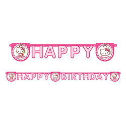 - Hello Kitty Kalpler Happy Birthday Harf Afiş