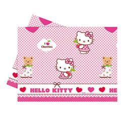 - Hello Kitty Kalpler Plastik Masa Örtüsü (120x180 cm) 1'li Paket
