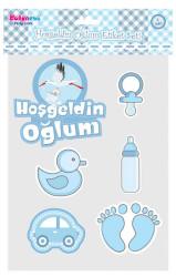 - Hoşgeldin Oğlum Sticker Set