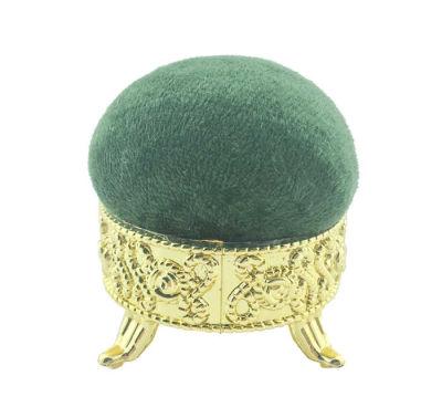 İğnedanlık Kadife Kaplı Lavanta Kokulu Yeşil