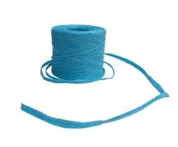- İp Jütip Rafya Modeli 2cm 100mt Mavi