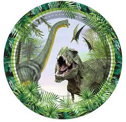- Jurassic Parti Tabak 23cm Pk:8 Kl:48
