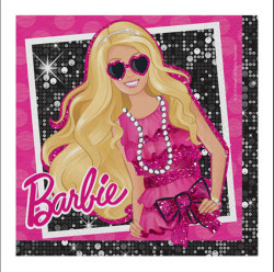 - Barbie Klasik Kağıt Peçete (33x33 cm) 16'lı Paket