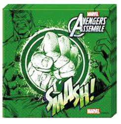 - Hulk Kağıt Peçete (33x33 cm) 20'li Paket