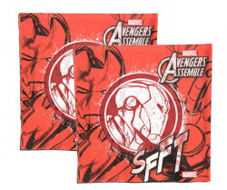 - Iron Man Kağıt Peçete (33x33 cm) 20'li Paket