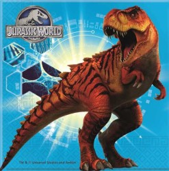 - Jurassic World Kağıt Peçete (33x33 cm) 20'li Paket