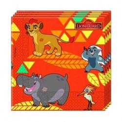 - Lion Guard Kağıt Peçete (33x33 cm) 20'li Paket