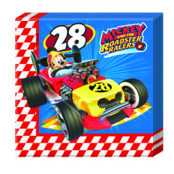- Mickey Roadster Kağıt Peçete (33x33 cm) 20'li Paket